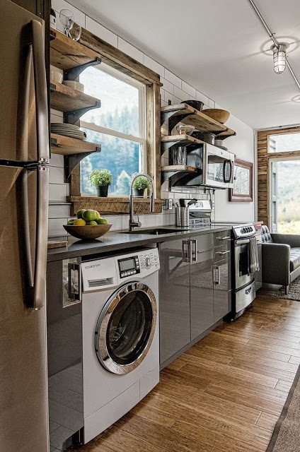 A Few Of My Favorite Tiny House Kitchens